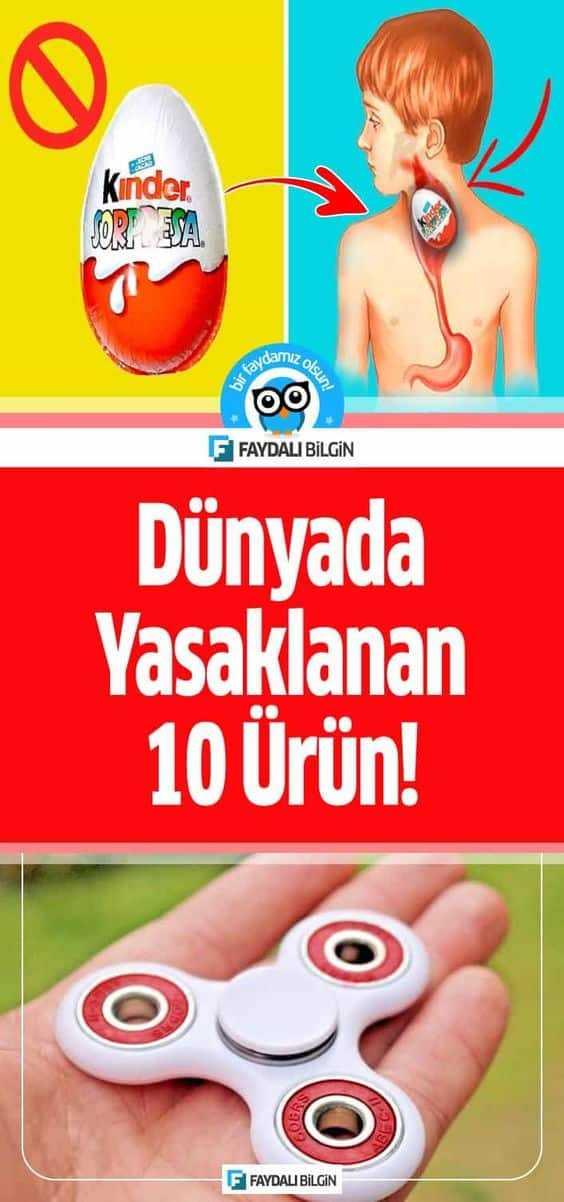 Dünyada Yasaklanan 10 Ürün!