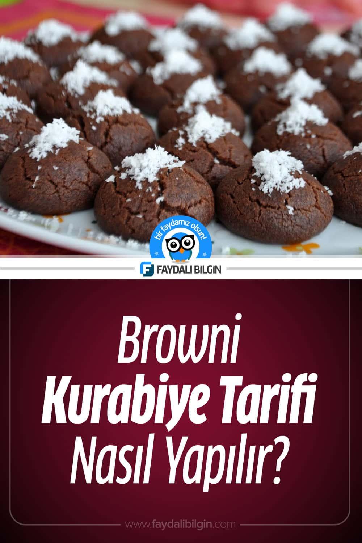 Browni Kurabiye Tarifi Nasıl Yapılır?