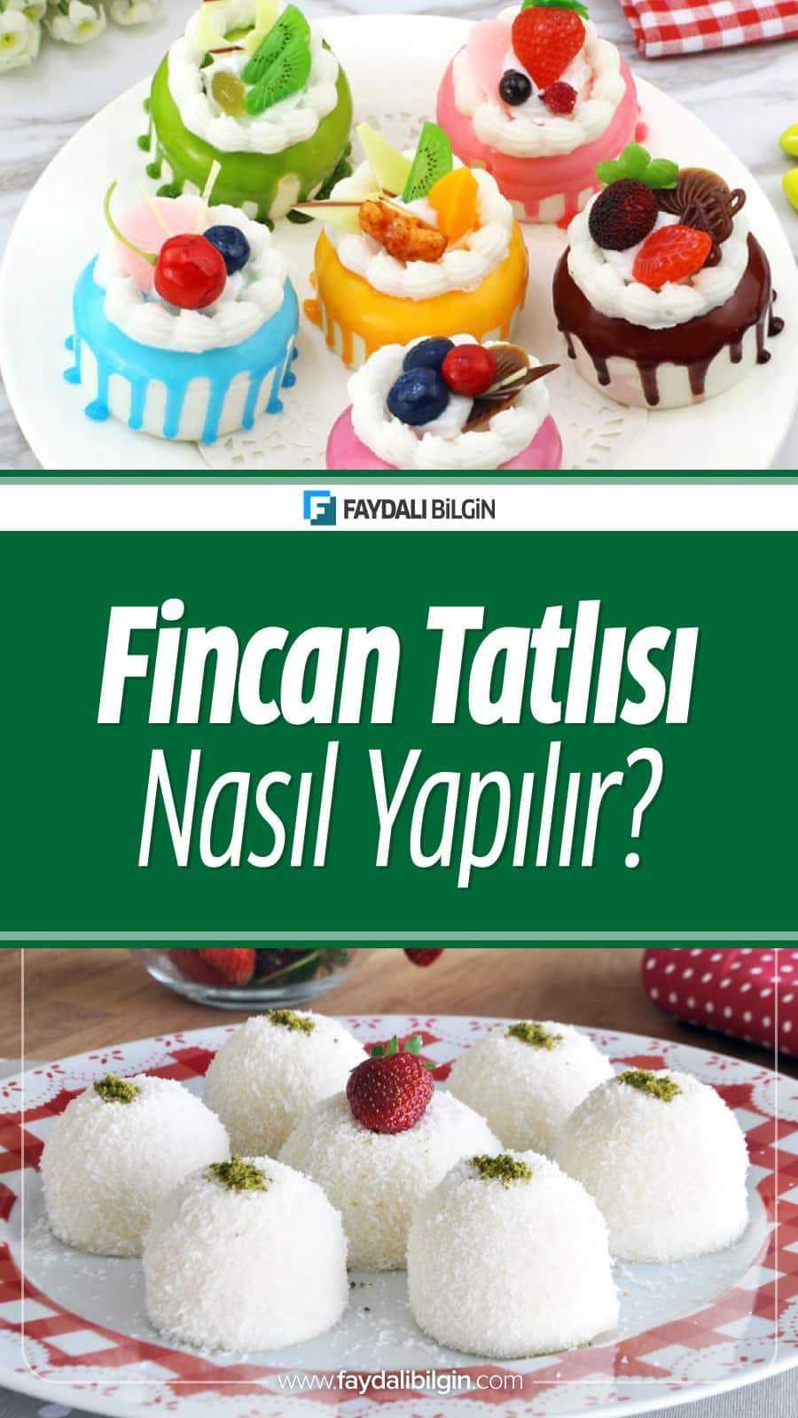Fincan Tatlısı - Sütlü Pratik Tatlı Tarifi Nasıl Yapılır?
