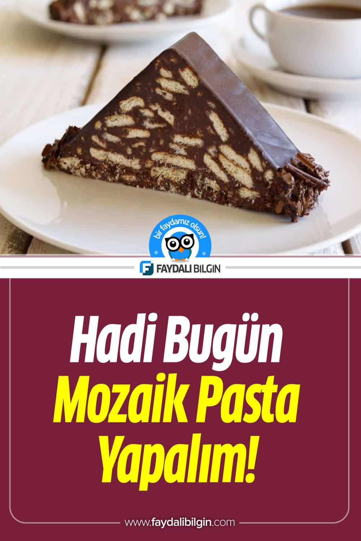 Mozaik Pasta Tarifi Nasıl Yapılır?