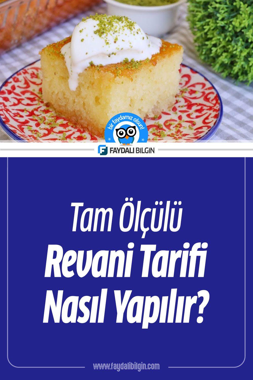 Revani Tarifi Nasıl Yapılır?