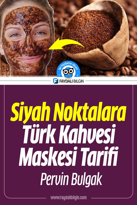 Siyah noktalara Türk Kahvesi maskesi tarifi