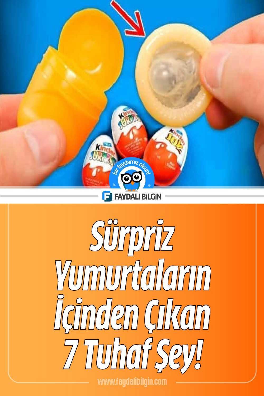 Sürpriz Yumurtaların İçinden Çıkan 7 Tuhaf Şey!