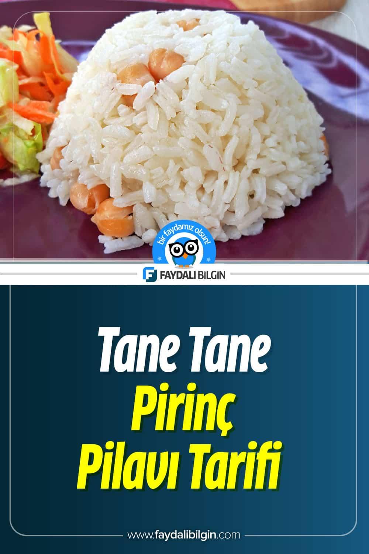 Tane Tane Pirinç Pilavı Tarifi Nasıl Yapılır?
