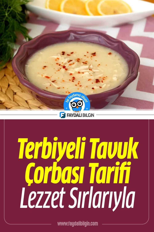 Terbiyeli Tavuklu Pirinç Çorbası Tarifi Nasıl Yapılır?