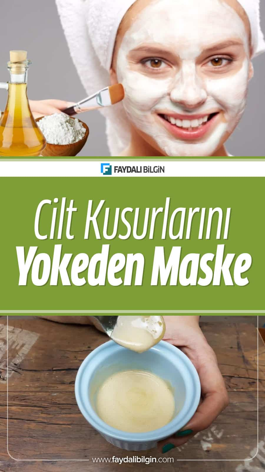 """Faydalı Bilgin Editörümüz sizler için bugün cildinizdeki akne ve lekeleri giderecek """"Elma Sirkesi ve Karbonat Maskesini"""" araştırdı.  #akne #leke #ciltsorunları #ciltkusurları #güzellik #bakım #makyaj #kadın #maske #ciltmaskesi #karbonat #sirke #limon"""