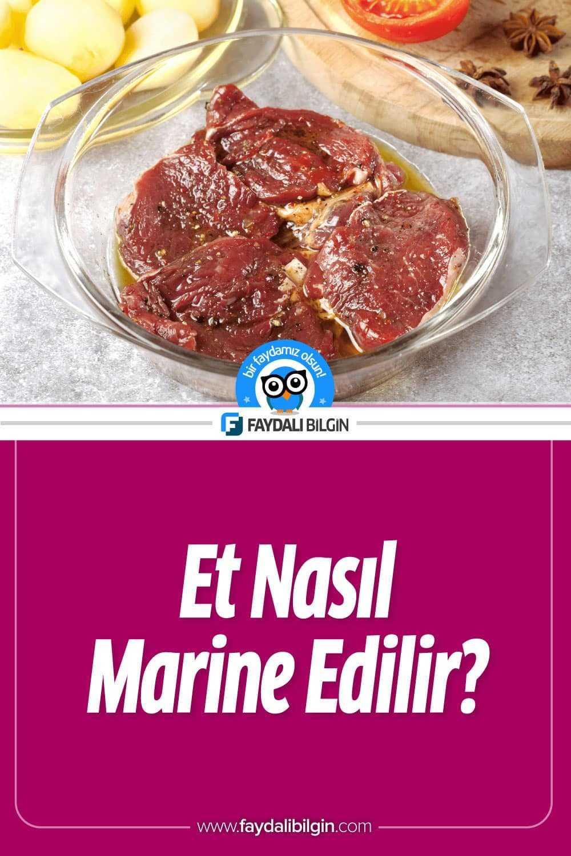Et nasıl marine edilir?