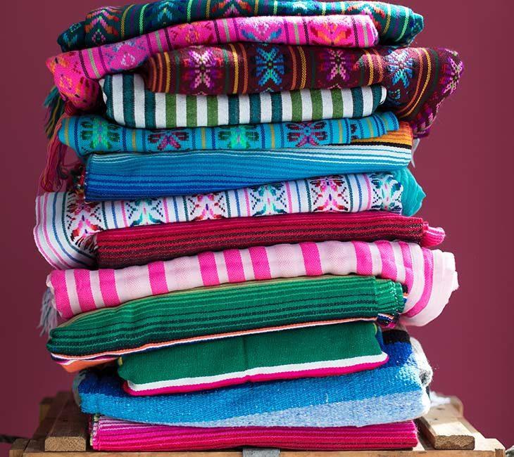 Dokuma tekstillerle dengeleyin