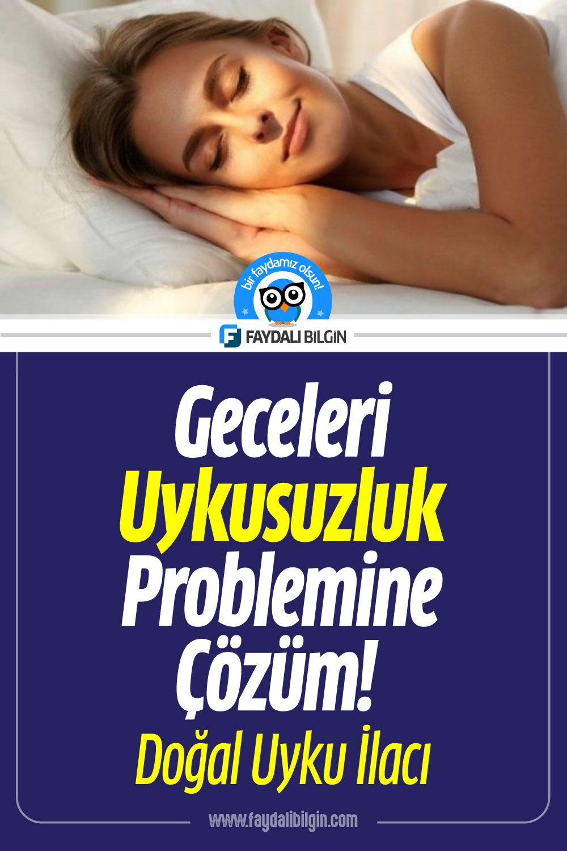Geceleri Uykusuzluk Problemine Çözüm! Doğal Uyku İlacı