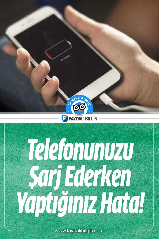 Telefonunuzu Şarj Ederken Yaptığınız 12 Hata?