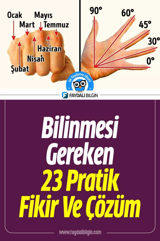 Unutamayacağınız 23 Pratik Fikir Ve Çözüm