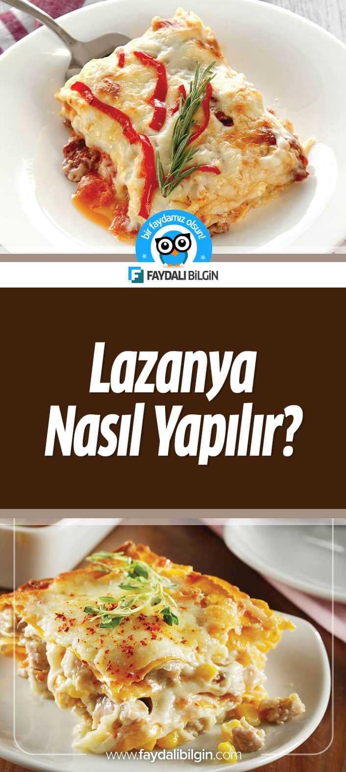 Lazanya Nasıl Yapılır?