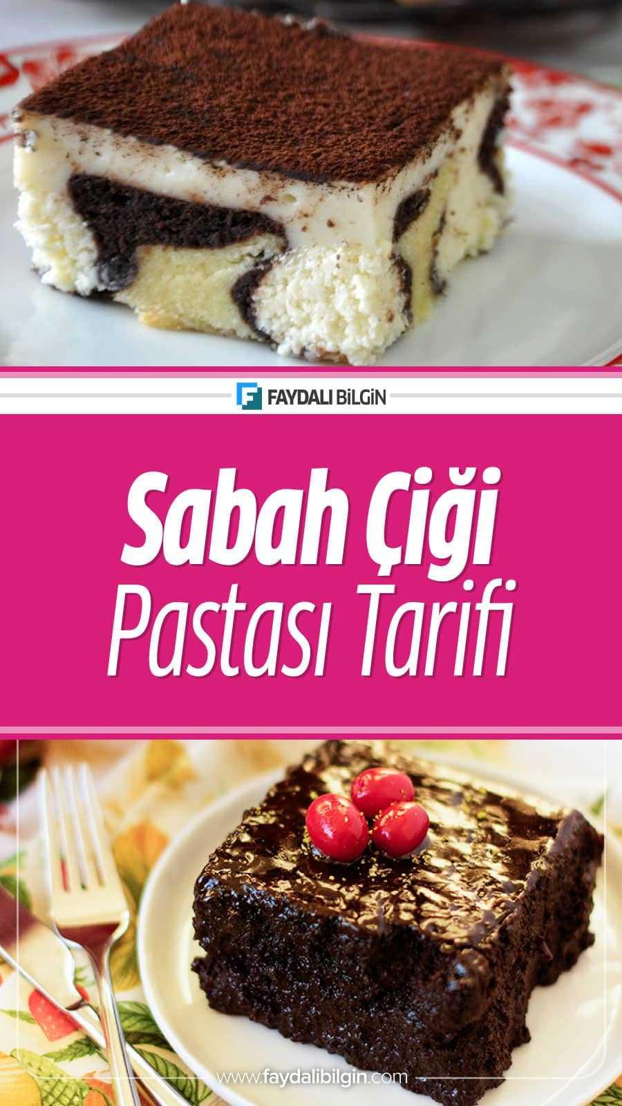 Sabah Çiyi Pastası Tarifi Nasıl Yapılır?