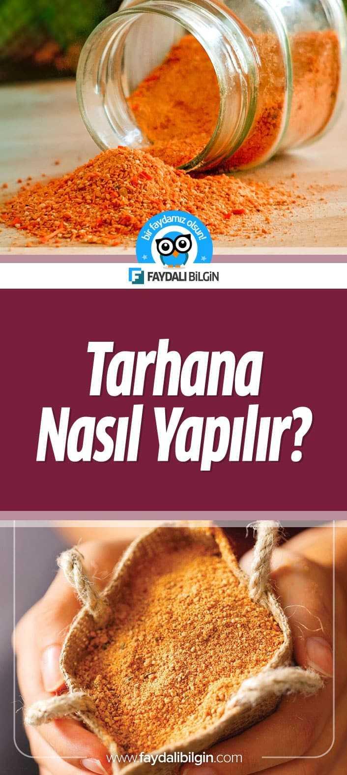 Nefis Yemek Tarifleri kanalının hazırladığı Tarhana Tarifi. Geleneksel yiyeceğimiz olan ev yapımı tarhana tarifini sizler için paylaşıyoruz.