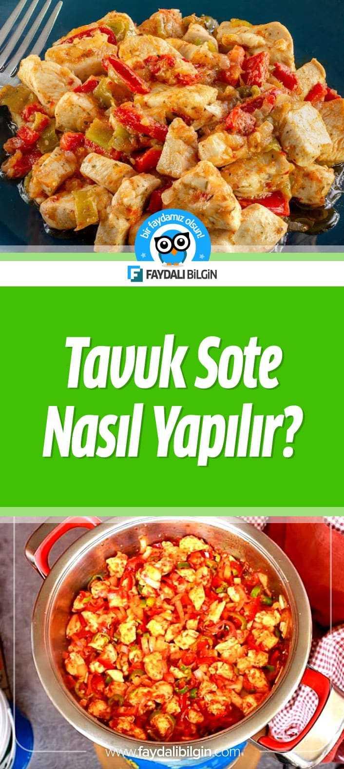 Tavuk Sote Nasıl Yapılır? Nefis Yemek Tarifleri kanalının hazırladığı Tavuk Sote video tarifi.