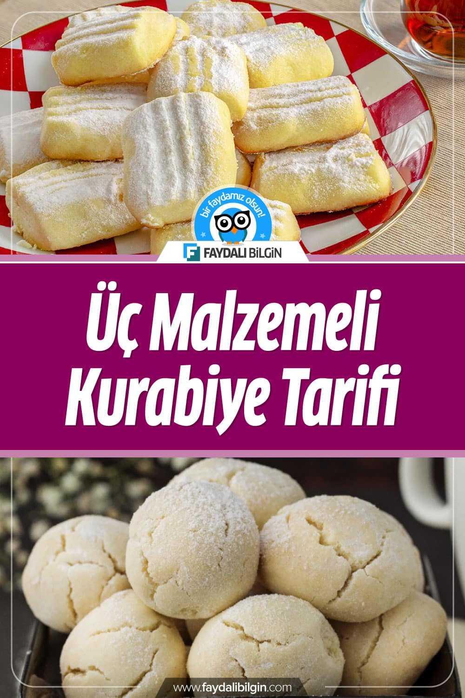 Nefis Yemek Tarifleri kanalının hazırladığı Üç Malzemeli Kurabiye Tarifi. Üç malzemeyle çabucak lezzetli kurabiye tarifi sizler için paylaşıyoruz. #kurabiye #kurabiyeler #üçmalzemelikurabiye