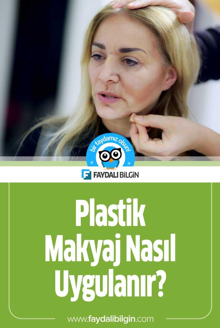 Plastik Makyaj Nas%C4%B1l Uygulan%C4%B1r