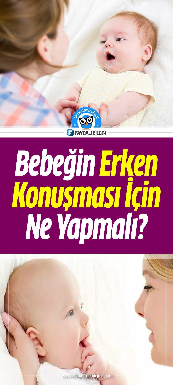 Bebeğin Erken Konuşması İçin Ne Yapmalı?