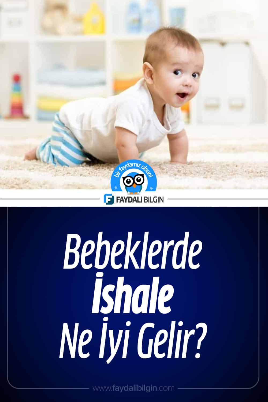 Bebeklerde İshale Ne İyi Gelir?