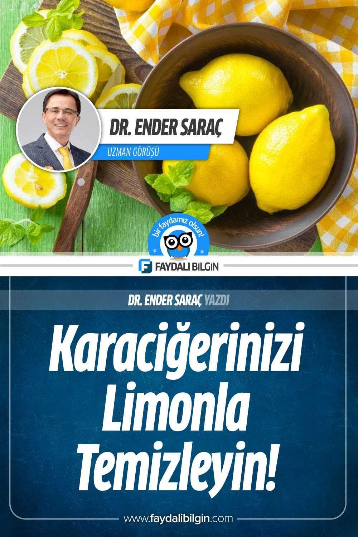 Karaciğerinizi Limonla Temizleme Kürü