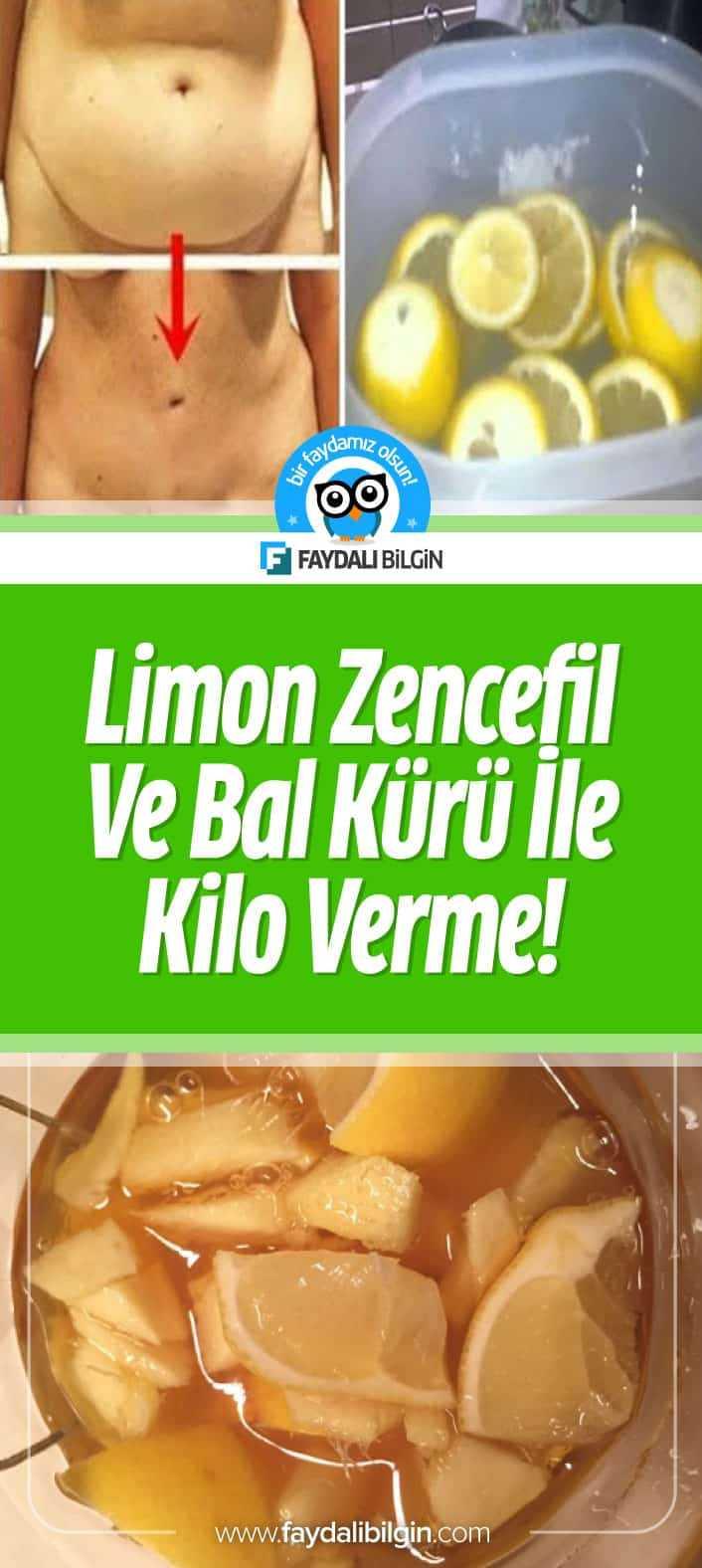 Limon, Zencefil ve Bal Kürü ile Sağlıklı Kilo Verme