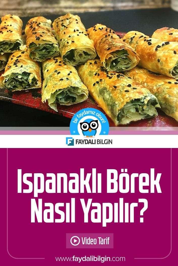 Nefis Yemek Tarifleri kanalından Ispanaklı Börek Tarifi. Çıtır çıtır incecik hamuru ile börek tariflerinin en lezzetlisi. #ıspanaklı #börek #börekler #börektarifi