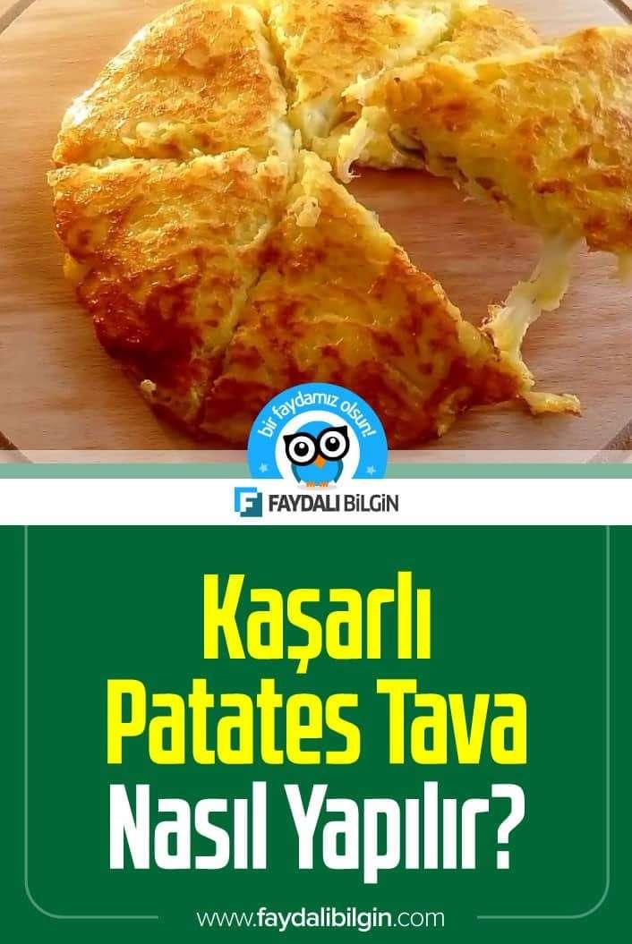 Kaşarlı Patates Tava Nasıl Yapılır?