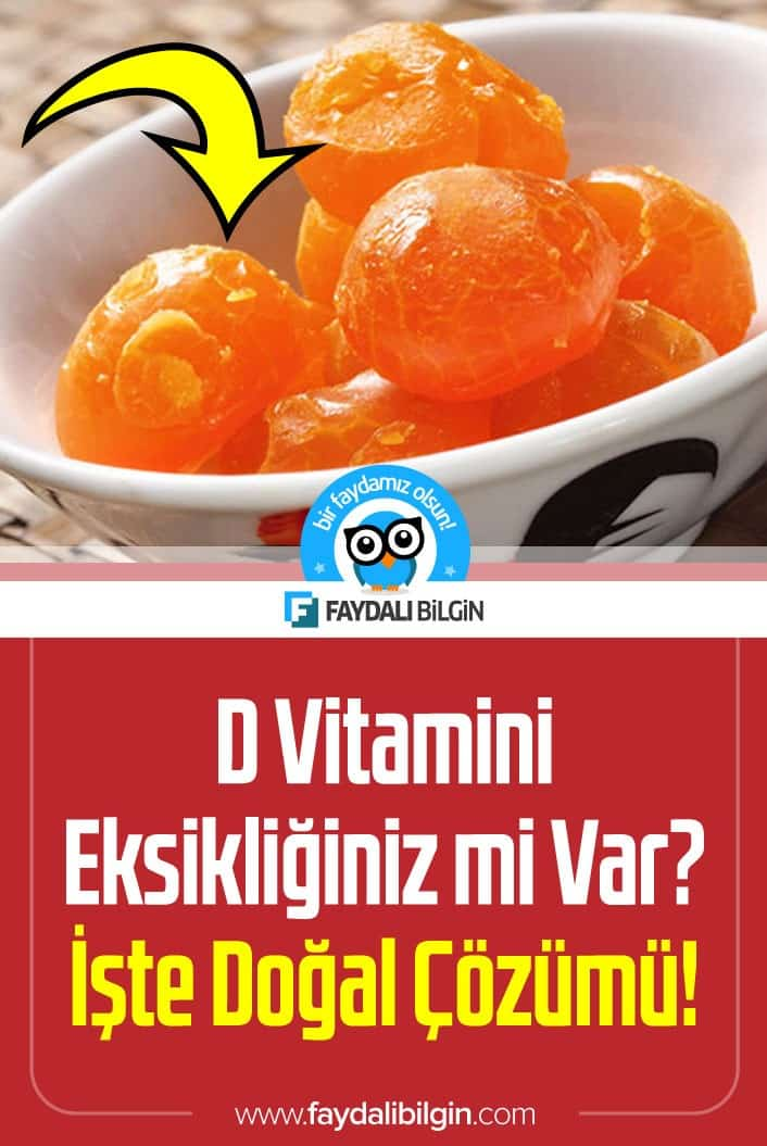 D Vitamini Eksikliğiniz mi Var? İşte Doğal Çözümü!