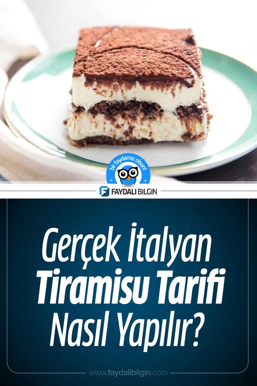 Gerçek İtalyan Tiramisu Tarifi Nasıl Yapılır