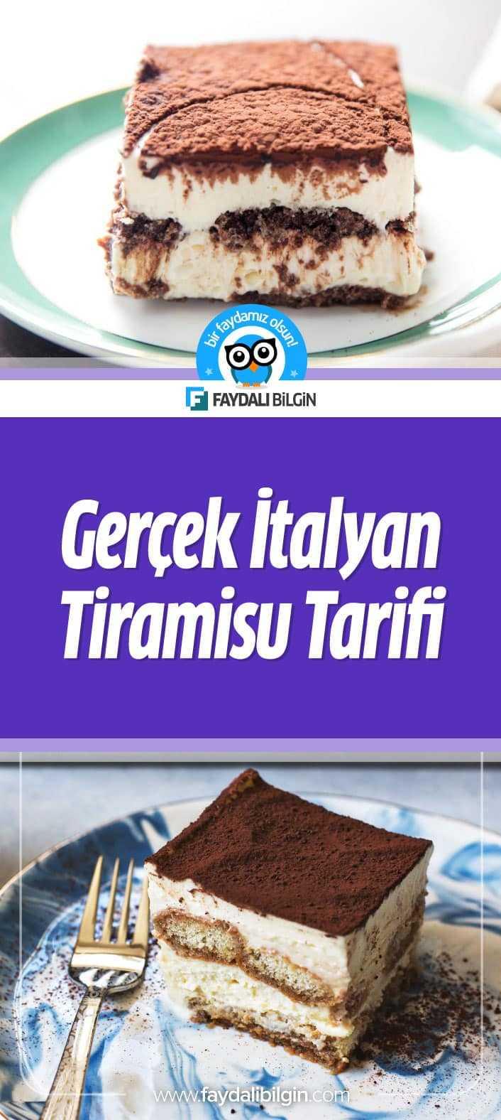 Nefis Yemek Tarifleri kanalından Gerçek İtalyan Tiramisu Tarifi. İtalyan asıllı olan ve son yıllarda ülkemizde çok sevilen bir tatlı olan tiramisu tarifini bugün sizler için hazırladık.