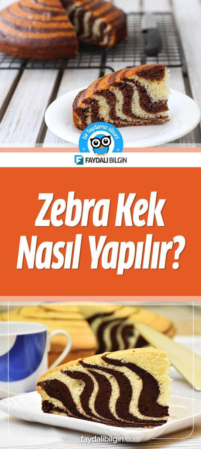 Zebra Kek Nasıl Yapılır?