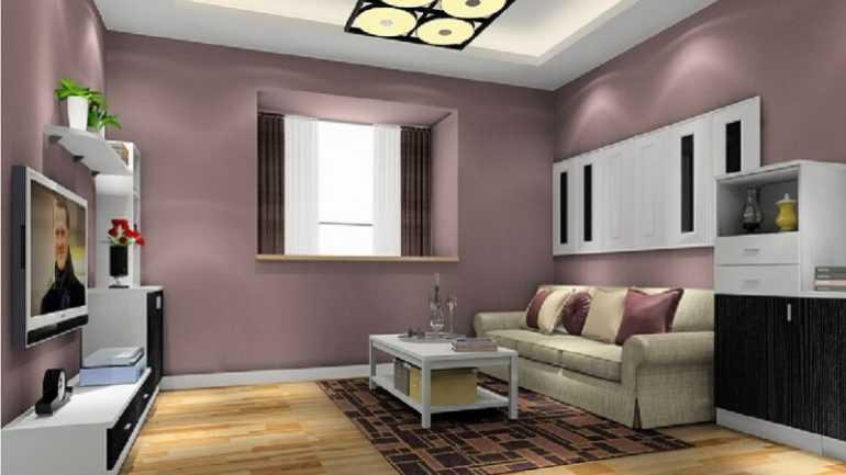 duvar rengiyle uyumlu mobilya secimi