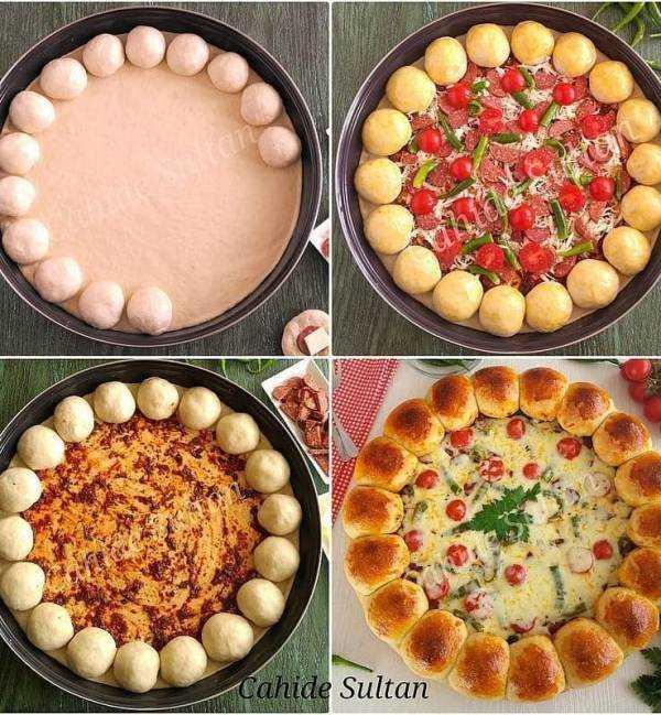 Doyuran Pizza Tarifi - Nasıl Yapılır?