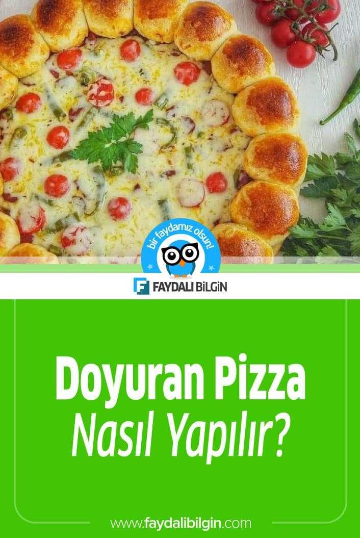 Doyuran Pizza Tarifi – Nasıl Yapılır?