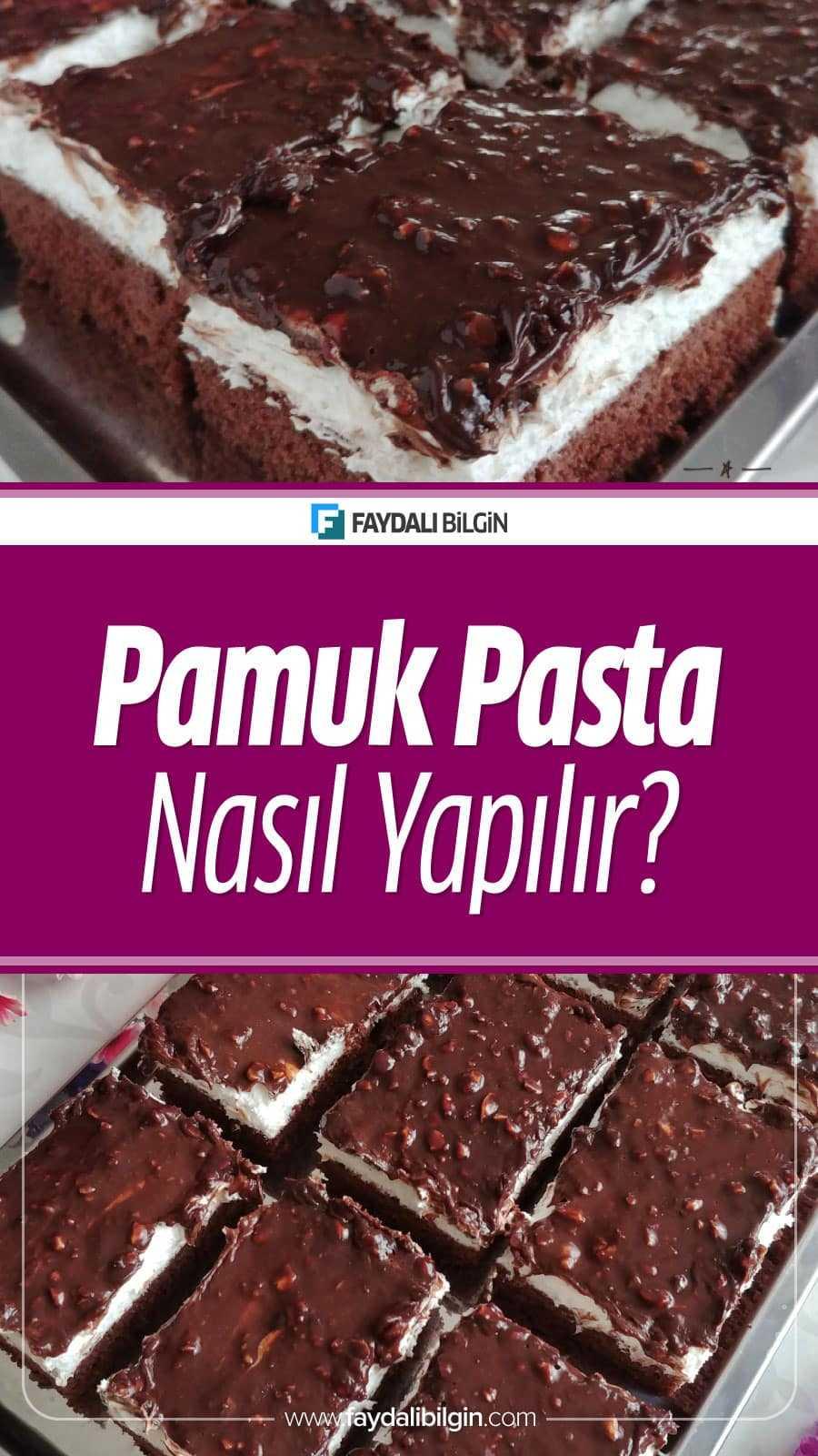 Nefis Yemek Tarifleri kanalının hazırladığı Pamuk Pasta Tarifi. Evinizdeki malzemelerinizle çok pratik bir şekilde yapabilirsiniz.