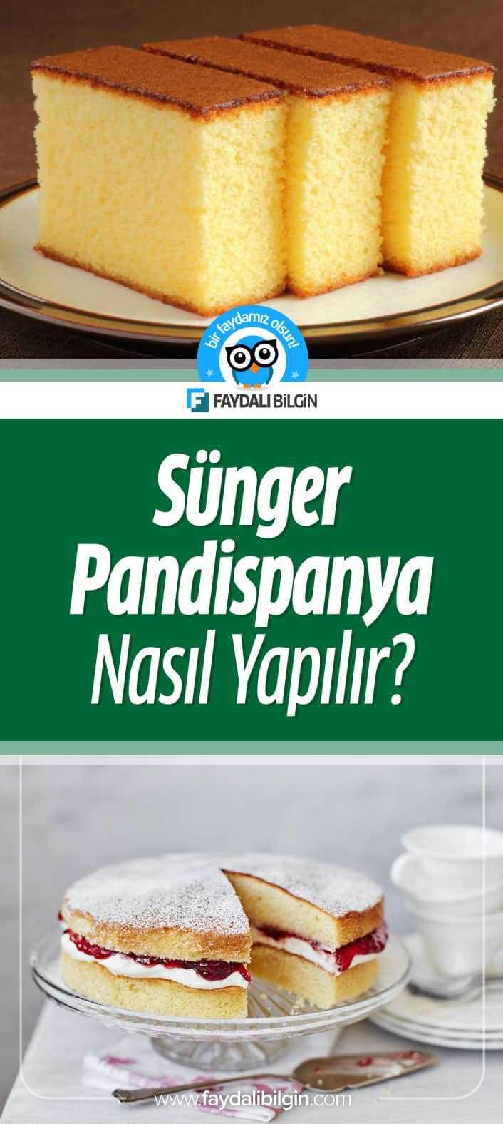 Sünger Pandispanya Nasıl Yapılır? Pandispanya Tarifi