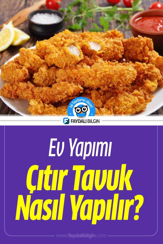 Evde Çıtır Tavuk Nasıl Yapılır?
