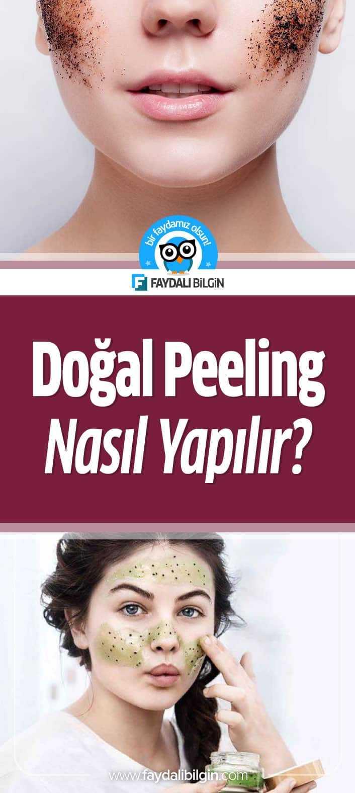 Daha güzel ve daha sağlıklı bir cilde sahip olmak için evde gerçekleştirebileceğiniz doğal peeling tarifleri sizlerle. #doğal #peeling #cilt #ciltbakımı #güzellik #yüzbakımı #yüztemizliği #kadın #makyaj #güzelliksırları