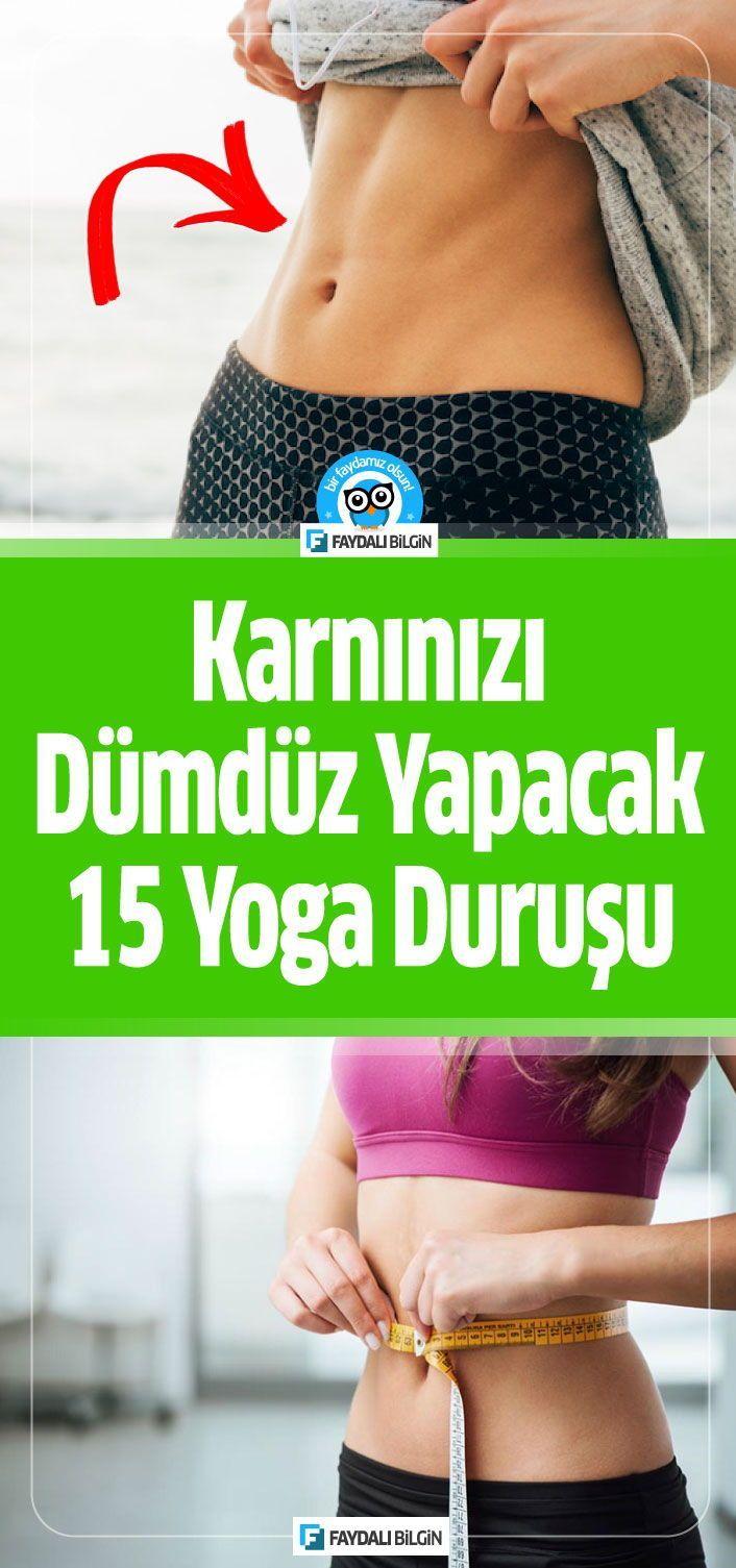Karnınızı Dümdüz Yapacak 15 Yoga Asana Hareketi
