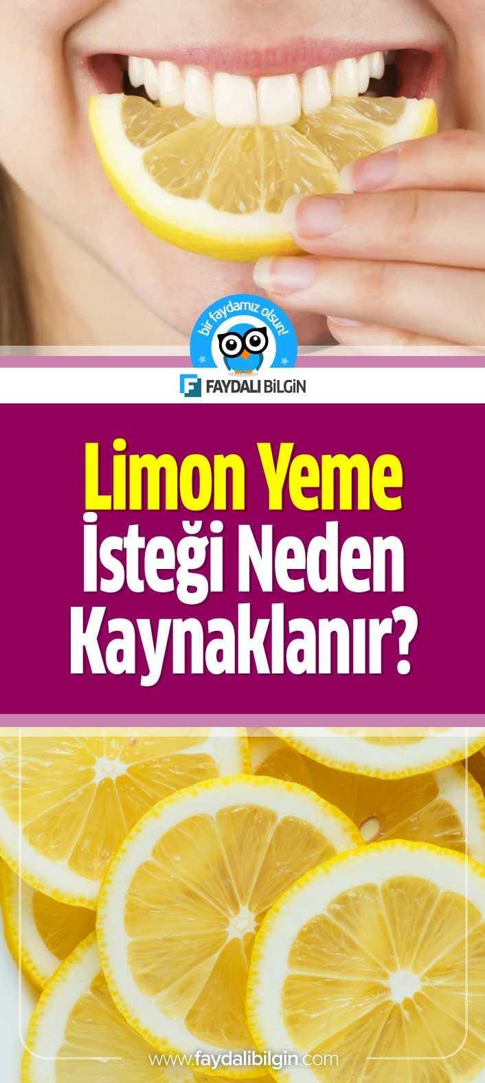 Limon Yeme İsteği Neden Kaynaklanır?