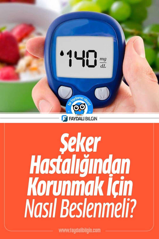 Şeker Hastalığından Korunmak İçin Nasıl Beslenmeli?