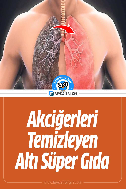 Akciğerleri Temizleyen Süper Gıdalar