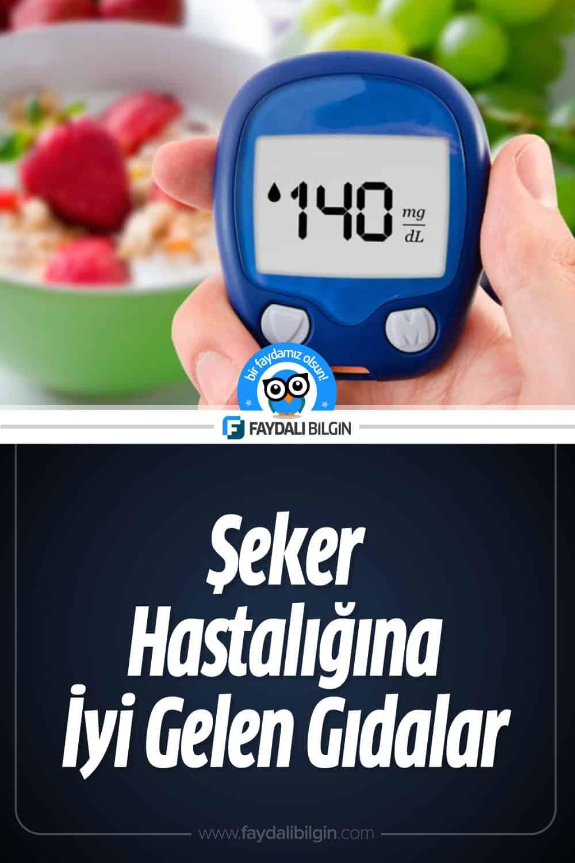 Şeker Hastalığına İyi Gelen Gıdalar