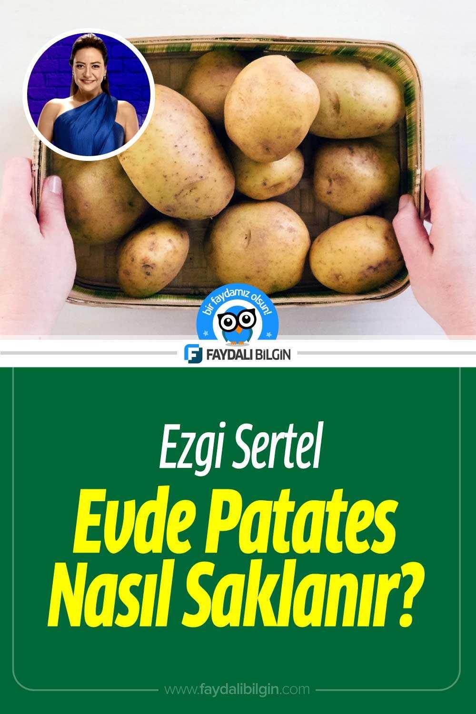 Evde Patates Nasıl Saklanmalı?
