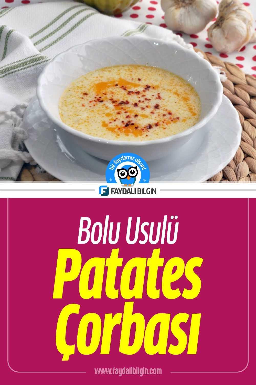 Patates Çorbası Tarifi Nasıl Yapılır?