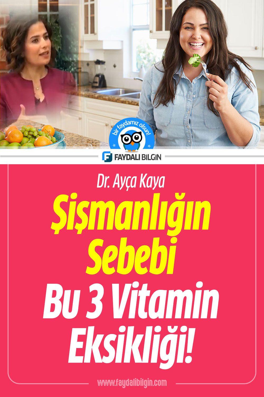 Şişmanlığın Sebebi Bu 3 Vitamin Eksikliği!