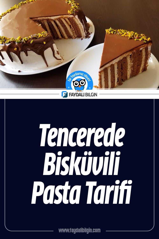 Tencerede Bisküvili Pasta Tarifi