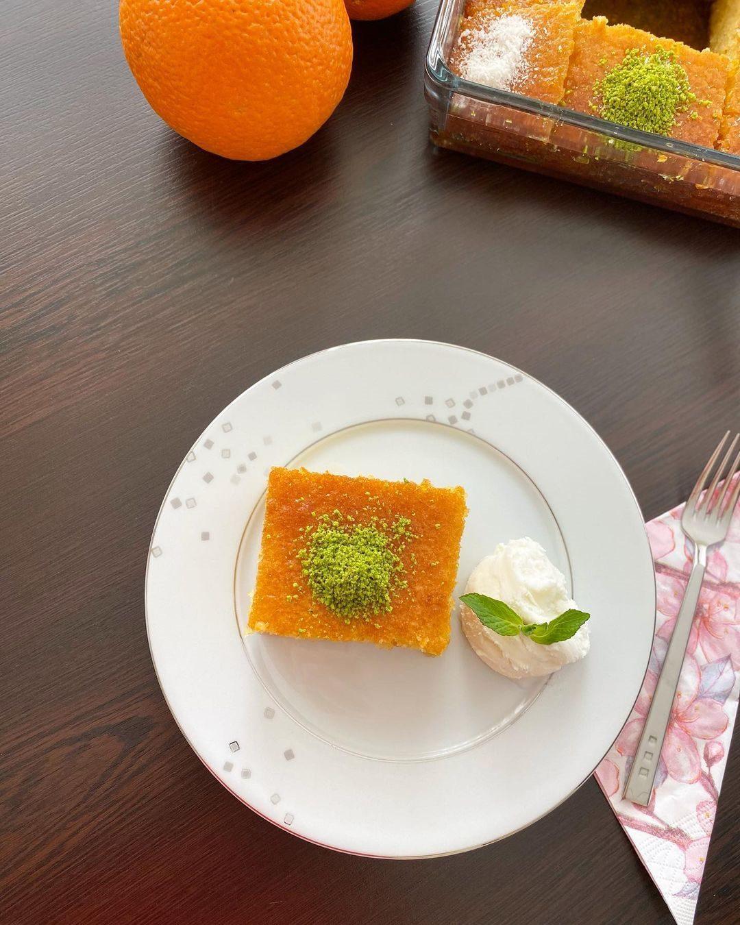 Portakallı Revani Yapılışı