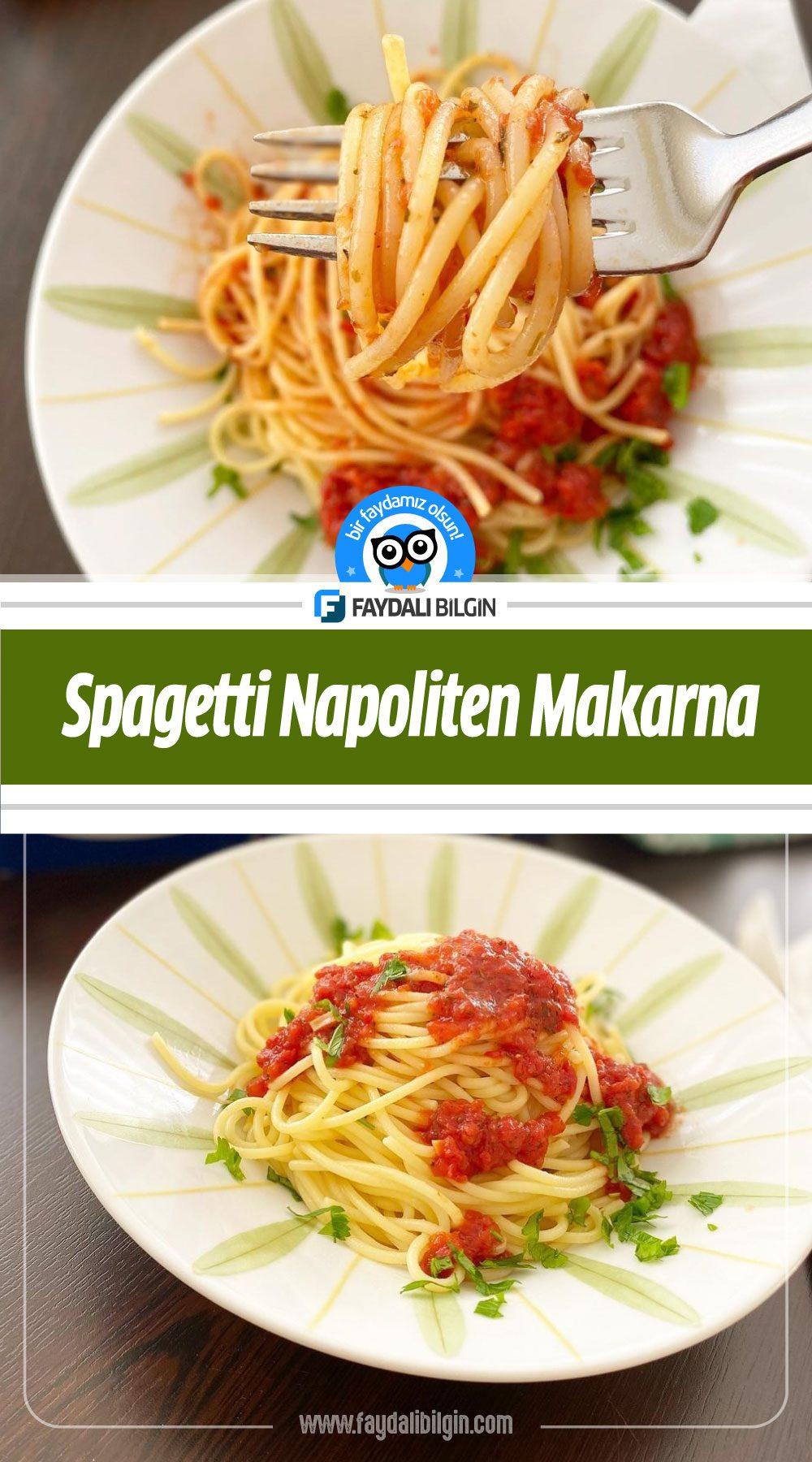 Spagetti Napoliten Makarna Tarifi